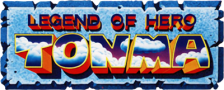 Legend of Hero Tonma logo