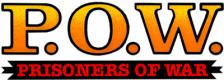 P.O.W. : Prisoners of War logo