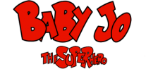 Baby Jo - The Super Hero logo