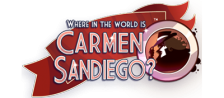 Where in the World Is Carmen Sandiego ? logo