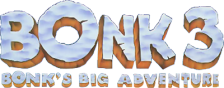 Bonk 3 - Bonk's Big Adventure logo