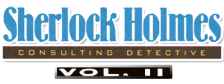Sherlock Holmes Consulting Detective Vol. 2 logo