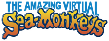 Amazing Virtual Sea-Monkeys, The logo
