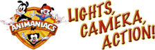 Animaniacs - Lights, Camera, Action! logo