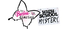 Barbie Diaries, The - High School Mystery logo