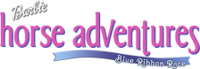 Barbie Horse Adventures - Blue Ribbon Race logo