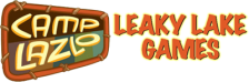 Camp Lazlo - Leaky Lake Games logo