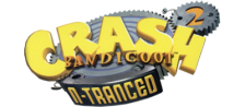 Crash Bandicoot 2 - N-Tranced logo
