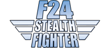 F24 Stealth Fighter logo