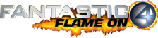 Fantastic 4 - Flame On logo