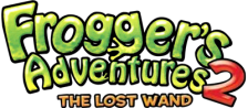 Frogger's Adventures 2 - The Lost Wand logo
