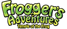 Frogger's Adventures - Temple of the Frog logo