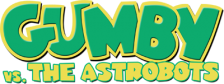 Gumby vs. the Astrobots logo