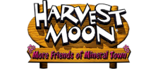 Harvest Moon - More Friends of Mineral Town logo