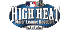 High Heat Major League Baseball 2003 logo