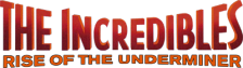 Incredibles, The - Rise of the Underminer logo