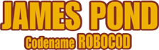 James Pond - Codename Robocod logo