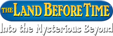 Land Before Time, The - Into the Mysterious Beyond logo