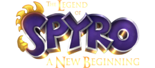 Legend of Spyro, The - A New Beginning logo