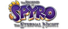 Legend of Spyro, The - The Eternal Night logo