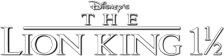 Lion King 1 1-2, The logo
