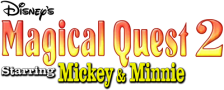 Magical Quest 2 Starring Mickey & Minnie logo