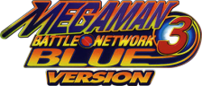 Mega Man Battle Network 3 - Blue Version logo