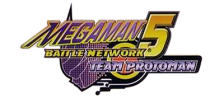 Mega Man Battle Network 5 - Team Proto Man logo