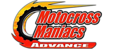 Motocross Maniacs Advance logo