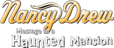 Nancy Drew - Message in a Haunted Mansion logo