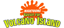 Nicktoons - Battle for Volcano Island logo