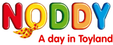 Noddy - A Day in Toyland logo
