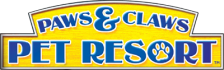 Paws & Claws - Pet Resort logo