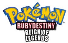 Pokemon Ruby Destiny - Reign of Legends logo