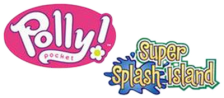 Polly Pocket! - Super Splash Island logo