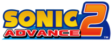 Sonic Advance 2 logo