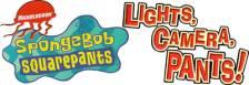 SpongeBob SquarePants - Lights, Camera, Pants! logo