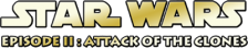 Star Wars - Episode II - Attack of the Clones logo