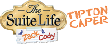 Suite Life of Zack & Cody, The - Tipton Caper logo