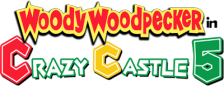 Woody Woodpecker in Crazy Castle 5 logo
