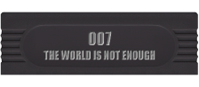 007 - The World Is Not Enough logo