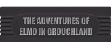 Adventures of Elmo in Grouchland, The logo