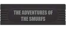 Adventures of the Smurfs, The logo