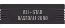 All-Star Baseball 2000 logo