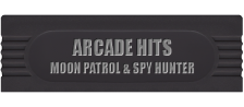 Arcade Hits - Moon Patrol & Spy Hunter logo