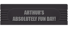 Arthur's Absolutely Fun Day! logo