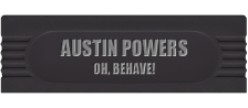 Austin Powers - Oh, Behave! logo