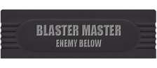 Blaster Master - Enemy Below logo