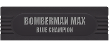Bomberman Max - Blue Champion logo