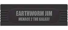 Earthworm Jim - Menace 2 the Galaxy logo